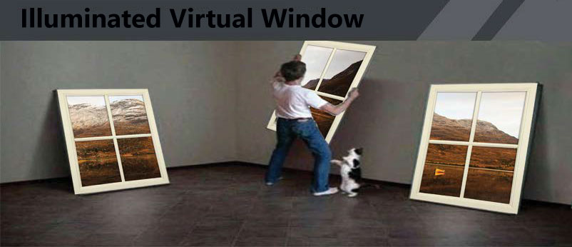 LED Virtual Window